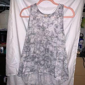 Tie dye tank shirt